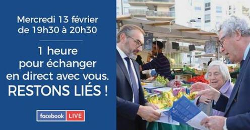 Facebook Live Commune nouvelle avec Arnaud Péricard